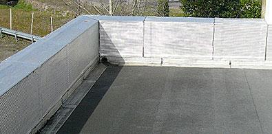 étanchéité des toits terrasses