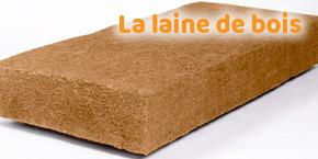 isolant toiture : laine de bois