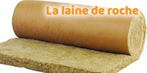 isolant toiture : laine de roche