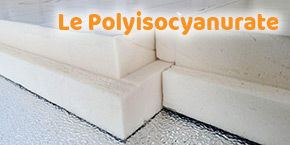 isolant toiture : polyisocyanurate