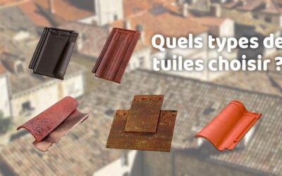 Quels types de tuiles choisir pour sa toiture ?